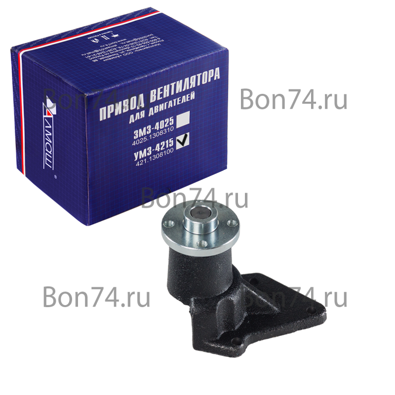 Привод вентилятора БОН для автомобилей Г-3302 с двигателем УМЗ-4215 (арт. 421.1308100)