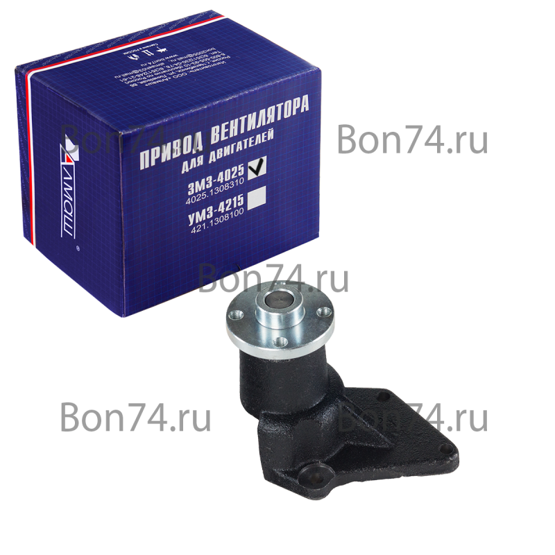 Картинка: привод вентилятора для автомобилей Г-3302 с двигателем ЗМЗ-402 | БОН
